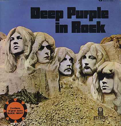 Copertina Deep Purple In Rock Messico