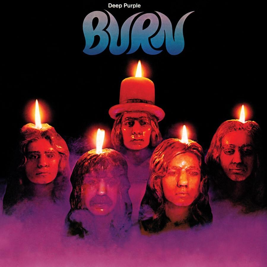 Copertina vinile Burn Deep Purple