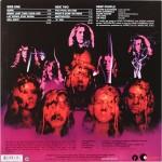 Retro del vinile di Burn dei Deep Purple
