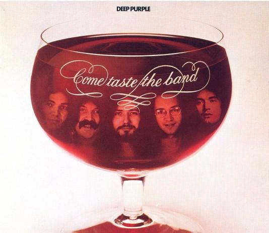 Copertina Deep Purple Come Taste The Band