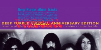 Copertina Deep Purple Fireball Anniversary Edition