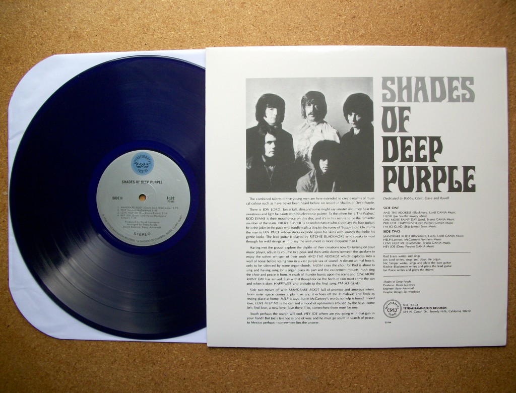 Shades Of Deep Purple Tracklist Testi Copertina Compra