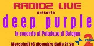 Deep Purple Bologna 2009 diretta radio 2