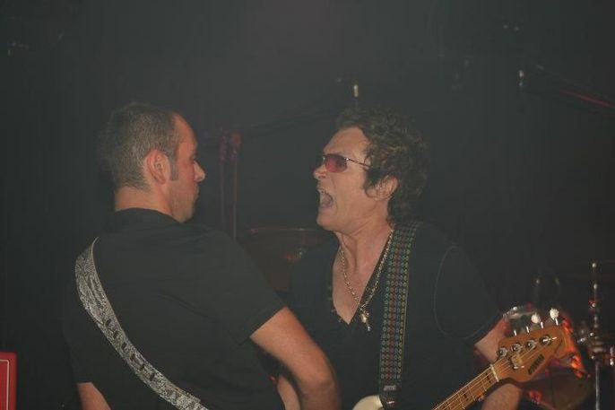 Matt Filippini e Glenn Hughes
