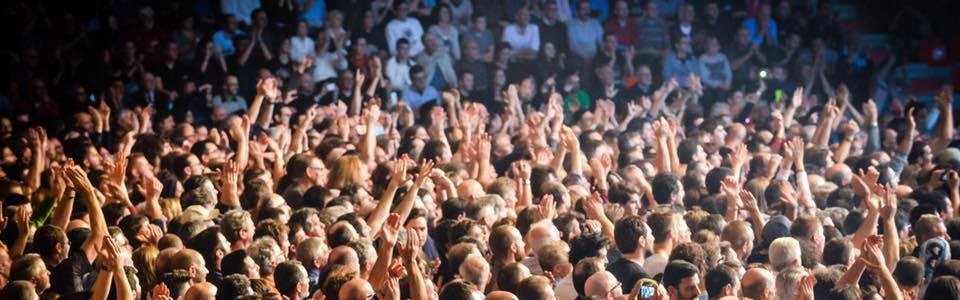 Deep Purple Padova 2015 pubblico