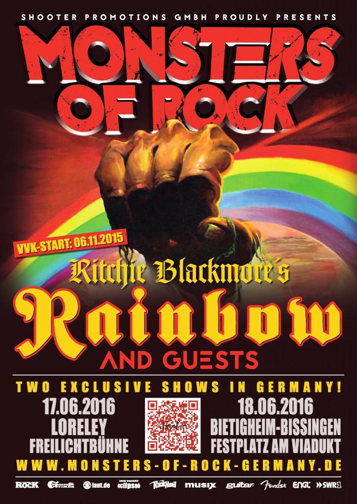 Monsters of Rock 2016 Germania