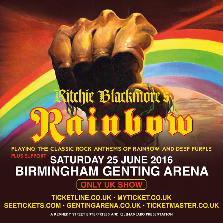 Ritchie Blackmore's Rainbow Birmingham 2016