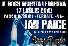 Locandina concerto Ian Paice Ternate 2016
