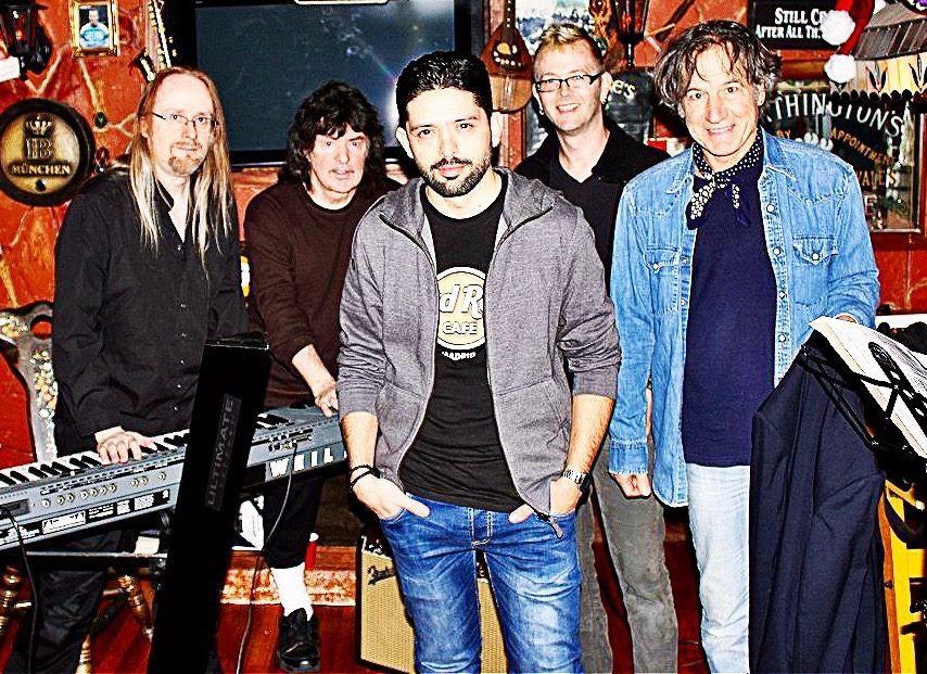 Ritchie Blackmore's Rainbow Novembre 2015 rehersal