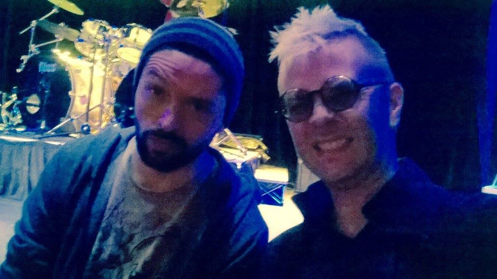 Ronnie Romero e David Keith