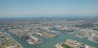 Vista aerea di Marghera
