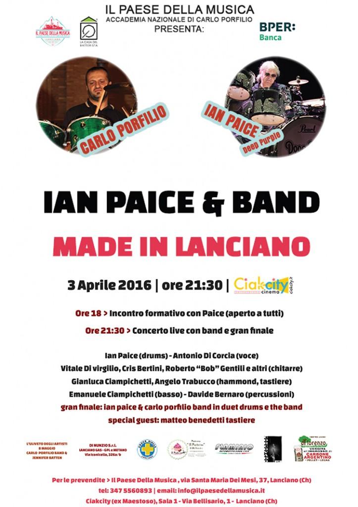 Ian Paice Lanciano