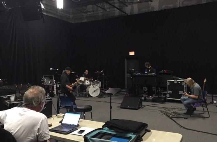 Deep Purple prima sessione nuovo album gen 2016