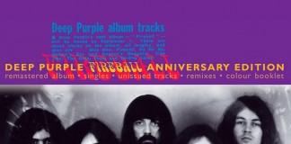 Copertina Deep Purple Fireball Anniversary Edition