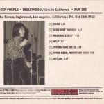 Inglewood 68: Live in California (digipack Sonic Zoom)