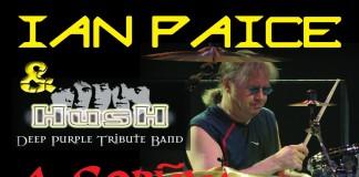 Ian Paice e Hush Spagna 2010