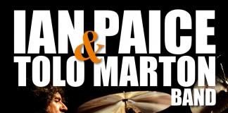 Locandina Ian Paice e Tolo Marton a Padova 8 aprile 2010