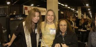 Craig Goldie, Steve Morse, Ronnie James Dio
