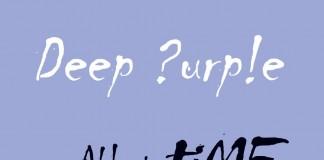 Deep Purple - All the Time in the World - copertina singolo