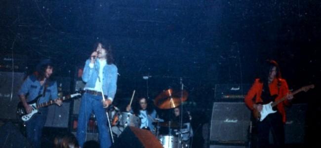Deep Purple a Genova, 1973. Foto di Paolo Sburlati