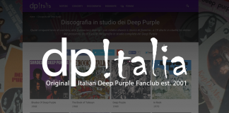 Lancio Deep Purple Italia 2015