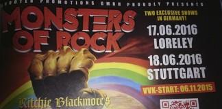 Rainbow Monsters Of Rock Germany 2016