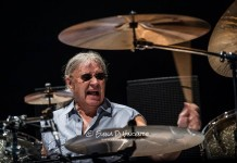 Deep Purple Milano 2015 Ian Paice