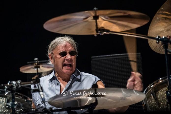 Deep Purple Milano 2015 Ian Paice
