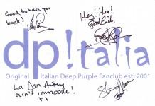 Dedica Deep Purple Italia