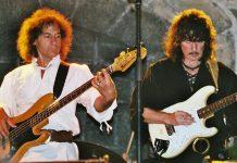 Bob Curiano e Ritchie Blackmore sul palco con i Blackmore's Night