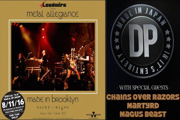 Metal Allegiance - Made in Brooklyn 2016