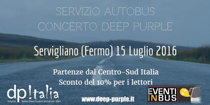 Autobus Servigliano Concerto Deep Purple