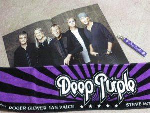 Deep Purple Japan 2016 Gadgets