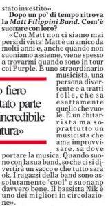Ian Paice Matt Filippini Provincia di Cremona Rockismi